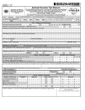 business w2 form  2013 Form PH BIR 1702-EX Fill Online, Printable, Fillable ..