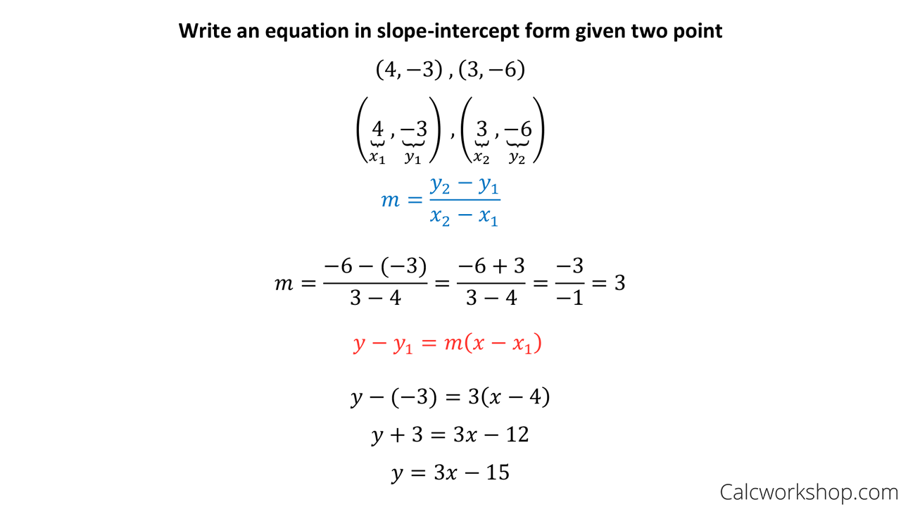 point slope form between two points  Point Slope Form Equation | World of Reference - point slope form between two points