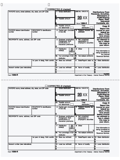 1099 form or w2  RETIREMENT Tax Forms Available…still waiting on ..