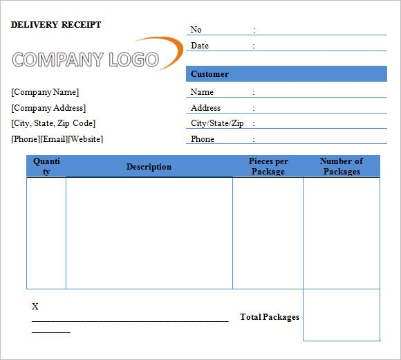 deposit form template  11 Printable Receipt Templates – Free Samples, Examples ..