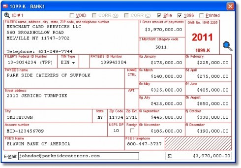 example of w2 form  Affordable 1099-K Compliance Software for Payment ..
