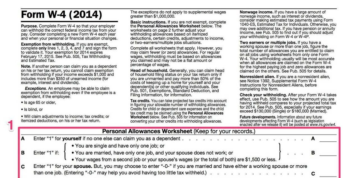 w2 form washington state  How To Fill Out A W-4 - Business Insider - w2 form washington state