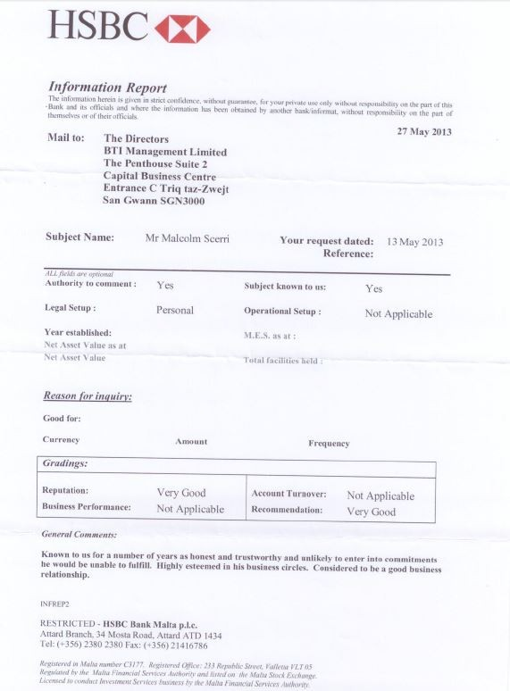 "hsbc direct deposit form  HSBC Bank started inquiry into two ""fraudulent"" documents .."
