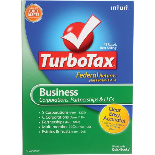 form 1065 turbotax  Intuit TurboTax Business Software 414640 B&H Photo Video - form 1065 turbotax