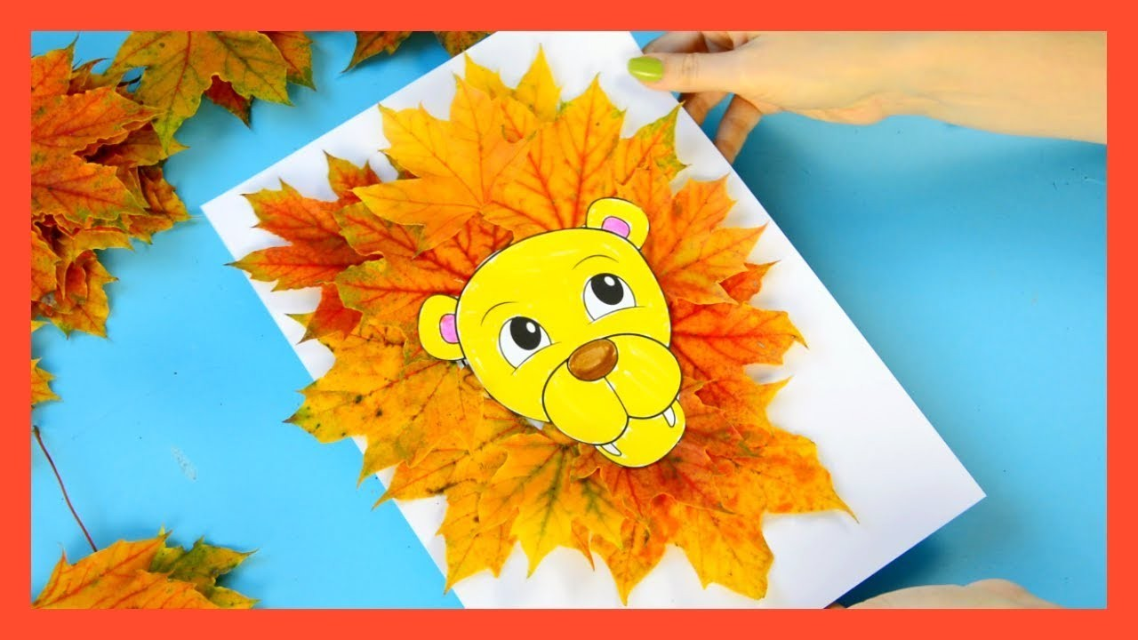 letter l craft template  Leaf Lion Craft - Fall craft for kids - YouTube - letter l craft template