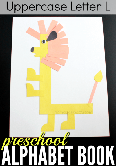 letter l craft template  Preschool Alphabet Book: Uppercase Letter L | From ABCs to ..