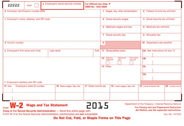w2 form line 12b  Understanding Your Tax Forms 2016: W-2, Wage & Tax Statement - w2 form line 12b