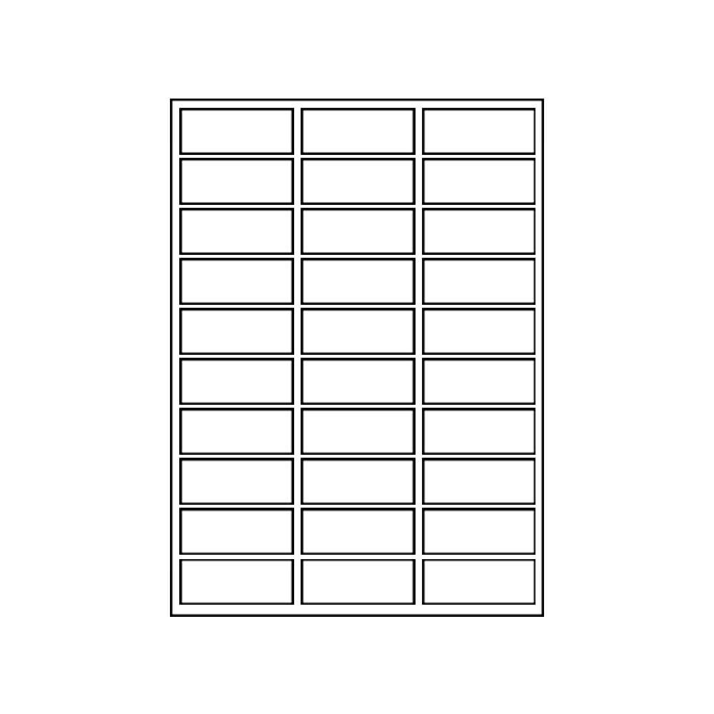 avery 5160 free template  Address Labels Avery Compatible # 5160 - CDROM2GO - avery 5160 free template