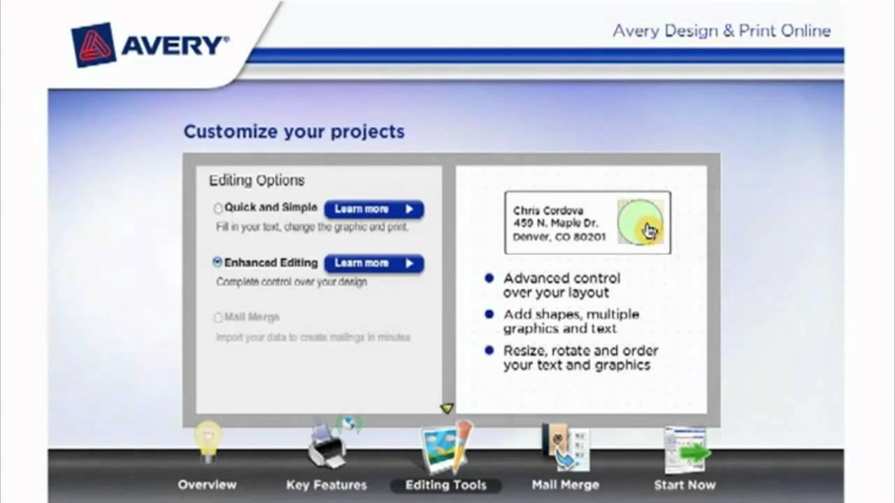 avery template design  Avery Design and Print Online with Free Templates - YouTube - avery template design