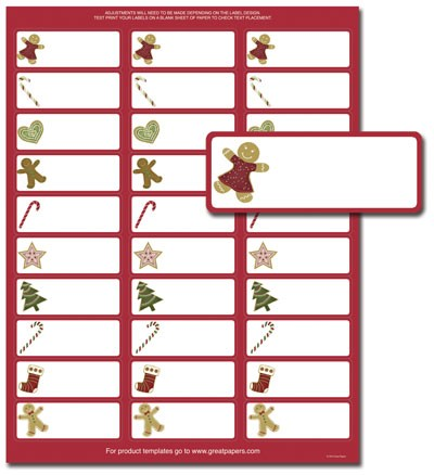 avery template address labels 5160  Free Printable Christmas Address Labels Avery 5160 - Made ..