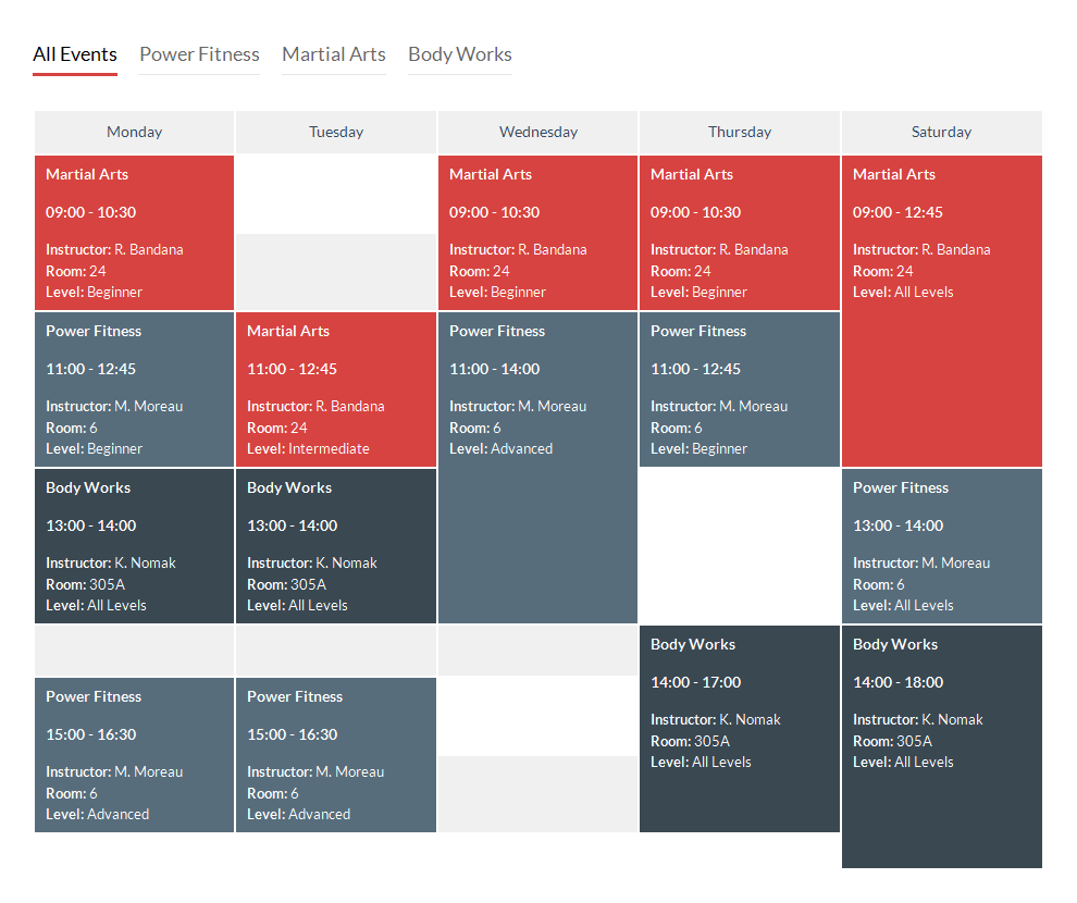 schedule template design  Image result for creative class schedule design | Schedule ..