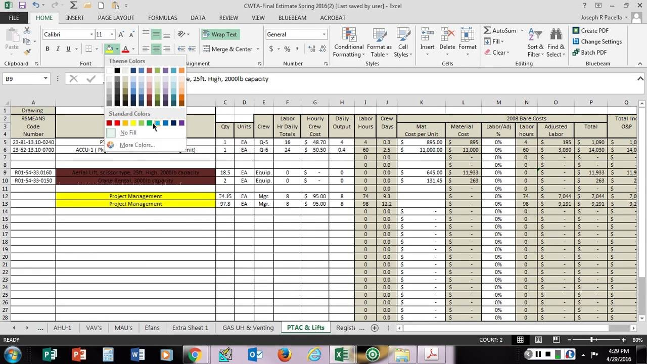 schedule of values template  Schedule of Values Assignment - YouTube - schedule of values template