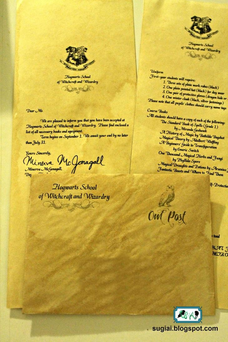diy hogwarts acceptance letter envelope  DIY Hogwarts Acceptance Letter and Envelope by SugiAi on ..