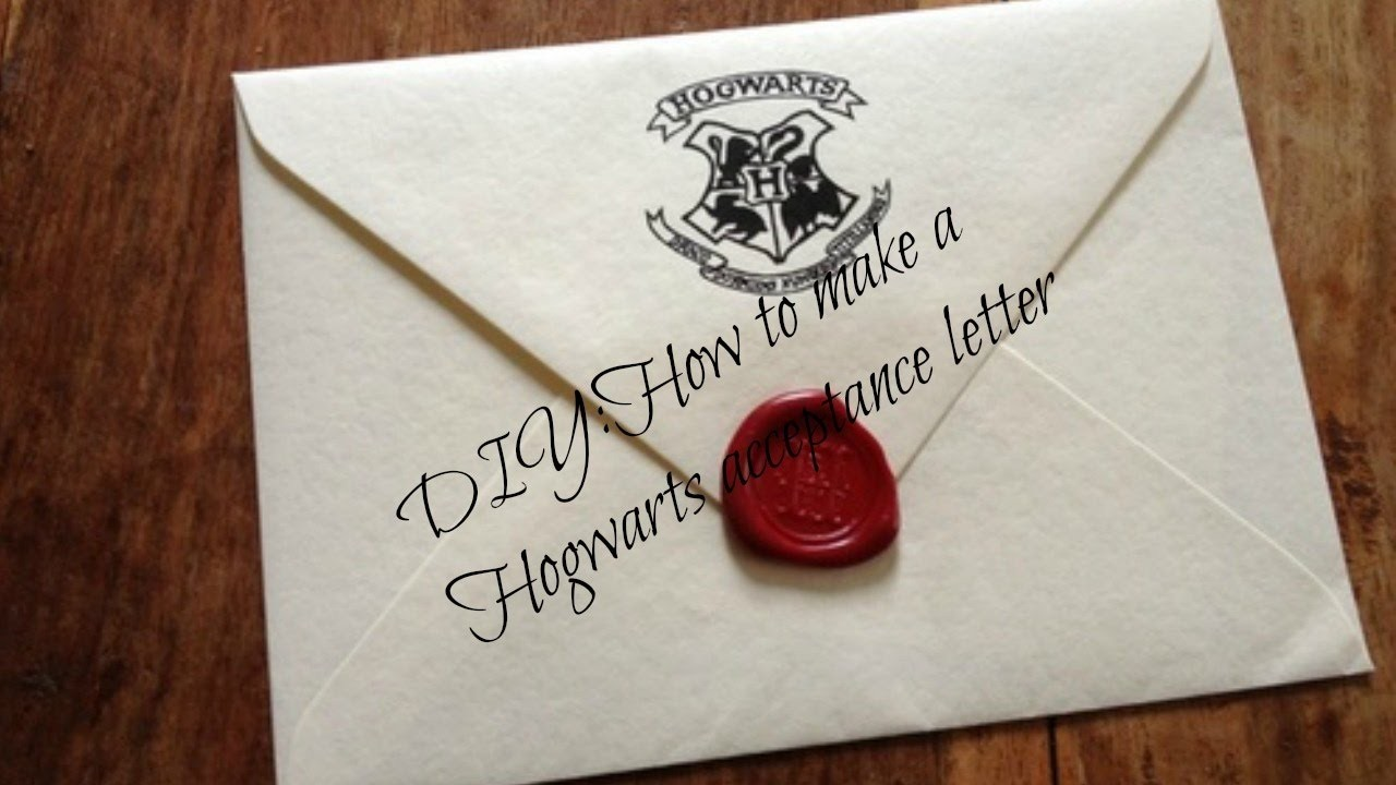 diy hogwarts acceptance letter envelope  DIY: How to make a Hogwarts acceptance letter - YouTube - diy hogwarts acceptance letter envelope