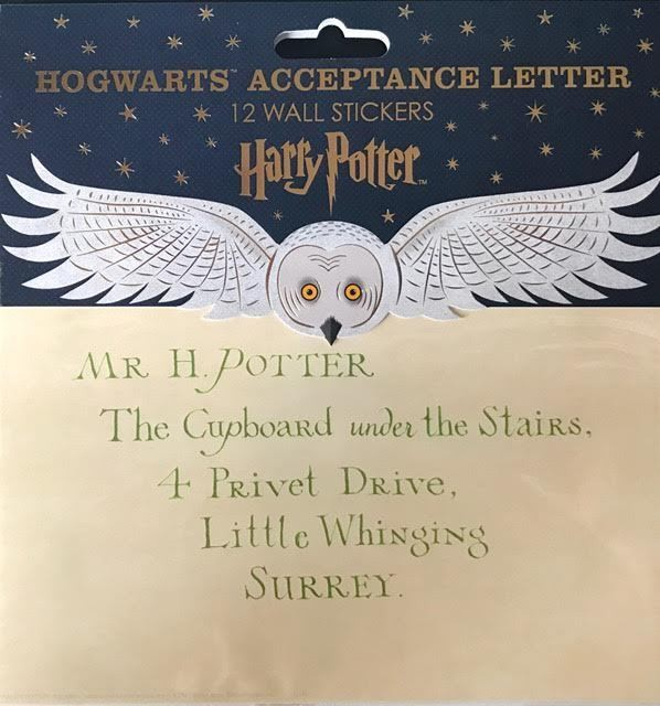 hogwarts acceptance letter nz  FREE SHIPPING - Harry Potter : HOGWARTS ACCEPTANCE LETTER ..
