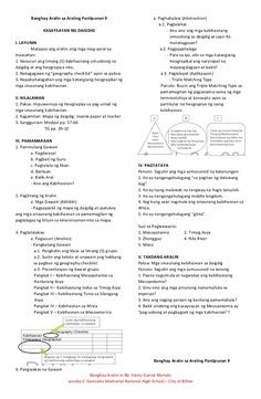 7es lesson plan sample  Semi-Detailed Lesson Plan in English 6 I. Objectives At ..
