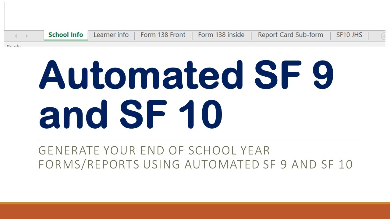 school form 9 deped sample  6:59:00 PM Deped Tambayan 0 Automated Forms , DepEd School ..