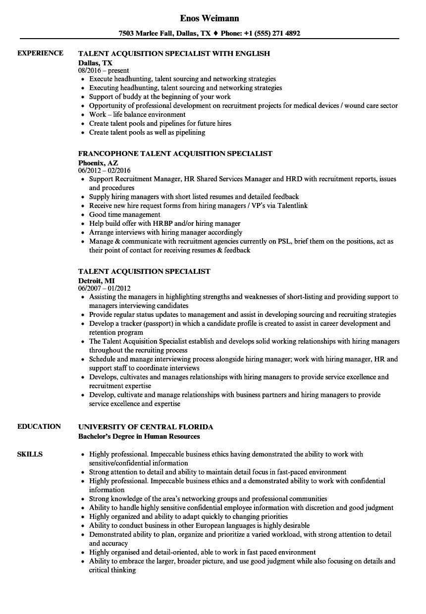 experienced candidate work experience resume sample 2