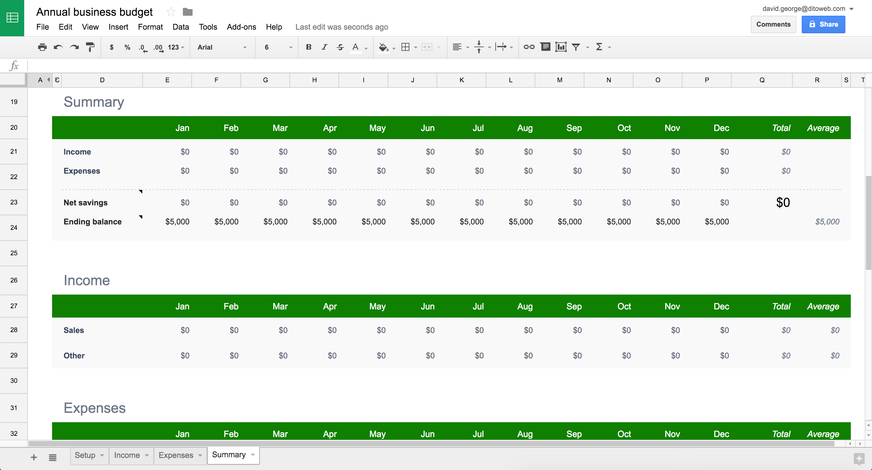 annual business budget template google sheets  New professionally-designed templates for Docs, Sheets ..