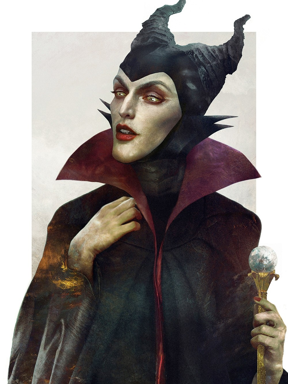 realistic drawings disney  6 Pieces of Eerily Realistic Disney Villains Artwork | Oh ..