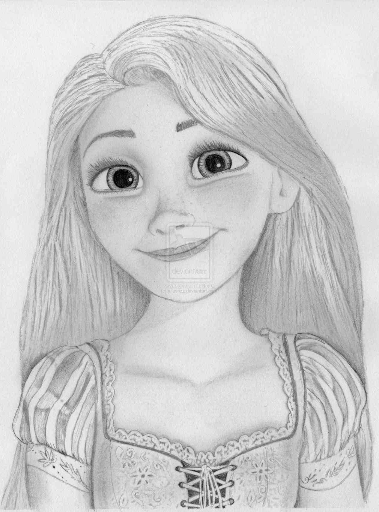 realistic drawings disney  Disney Pencil Sketches at PaintingValley.com | Explore ..